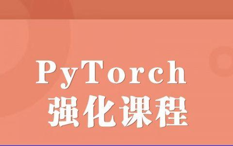 PyTorch 强化课程,手把手带你学习 PyTorch