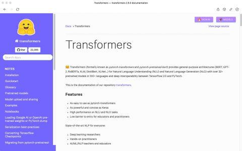 Transformers是TensorFlow 2.0和PyTorch的最新自然语言处理库【下】